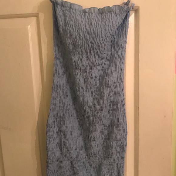 LF Dresses & Skirts - Blue slip dress
